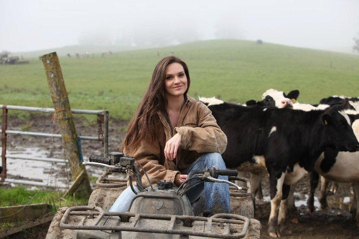 dairy farmer to be first female at motogp this sunday winners
