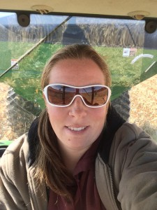 janny in tractor