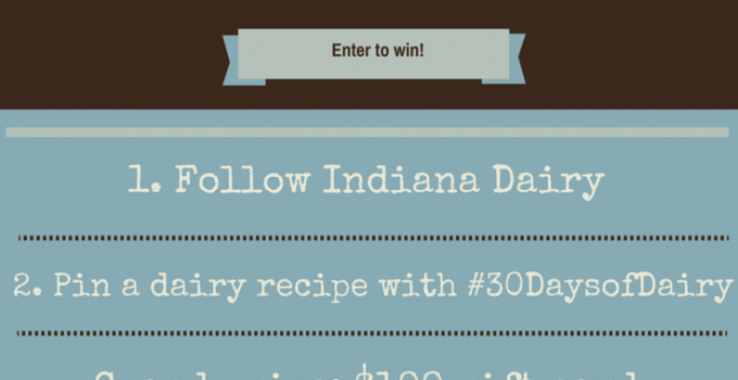 June Dairy Month Contest rules