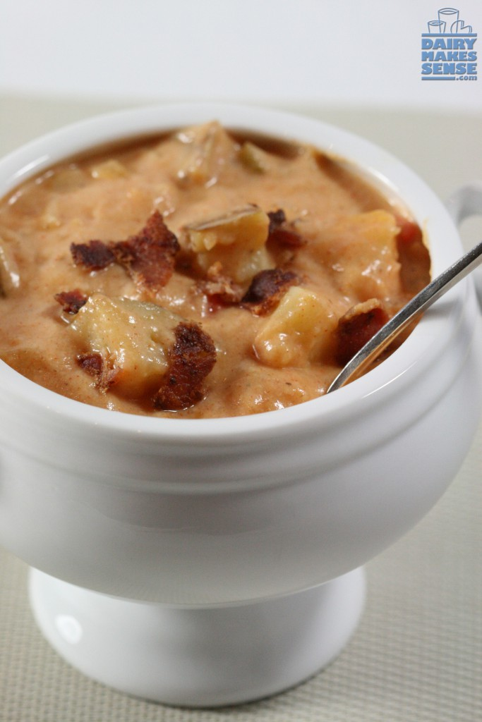 chunky baked potato chowder