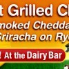 Dairy Bar Indiana State Fair Grilled Cheese