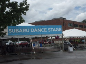 subaru dance stage