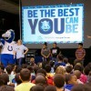 Colts Blue Fuel Up to Play 60 school show