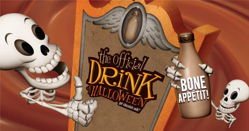Chocolate Milk Halloween