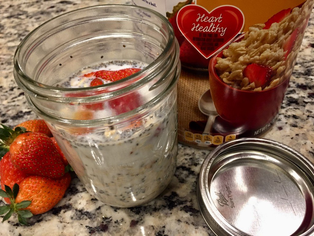 Dairy Straberry blog oats