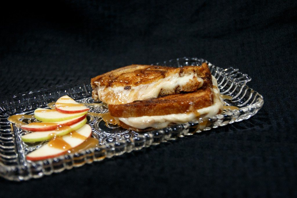 Caramel grilled cheese