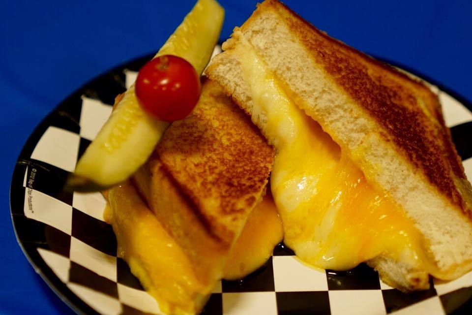 Mousetrap grilled cheese