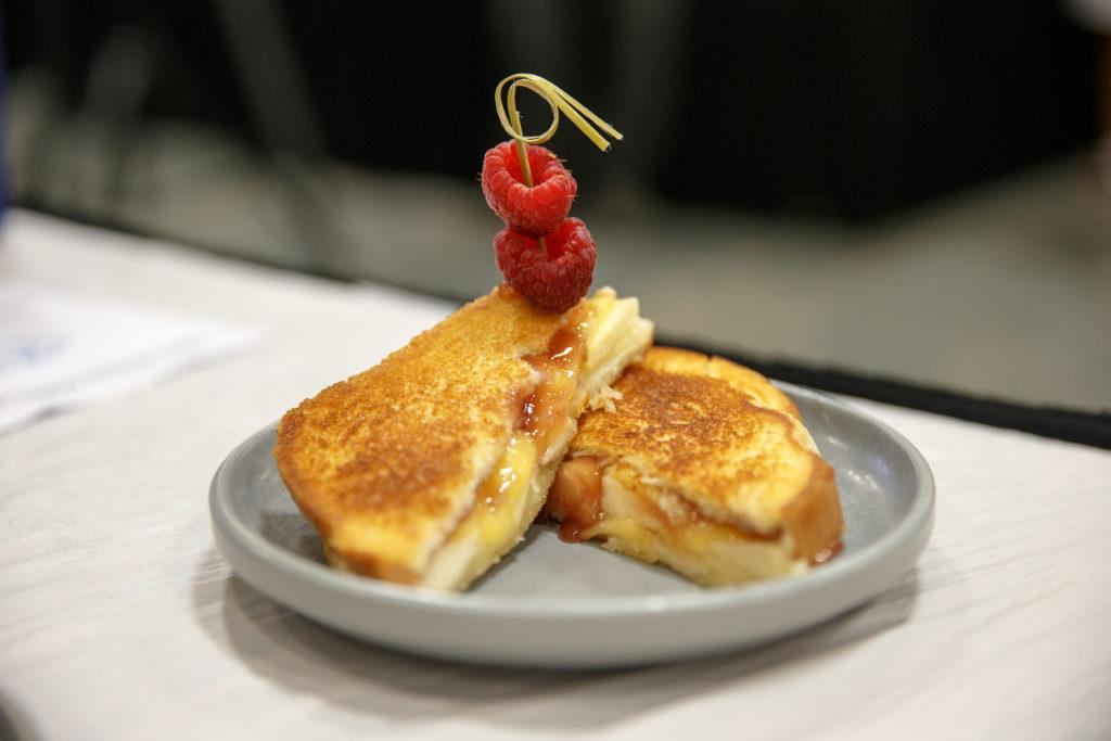 Razzy apple grilled cheese
