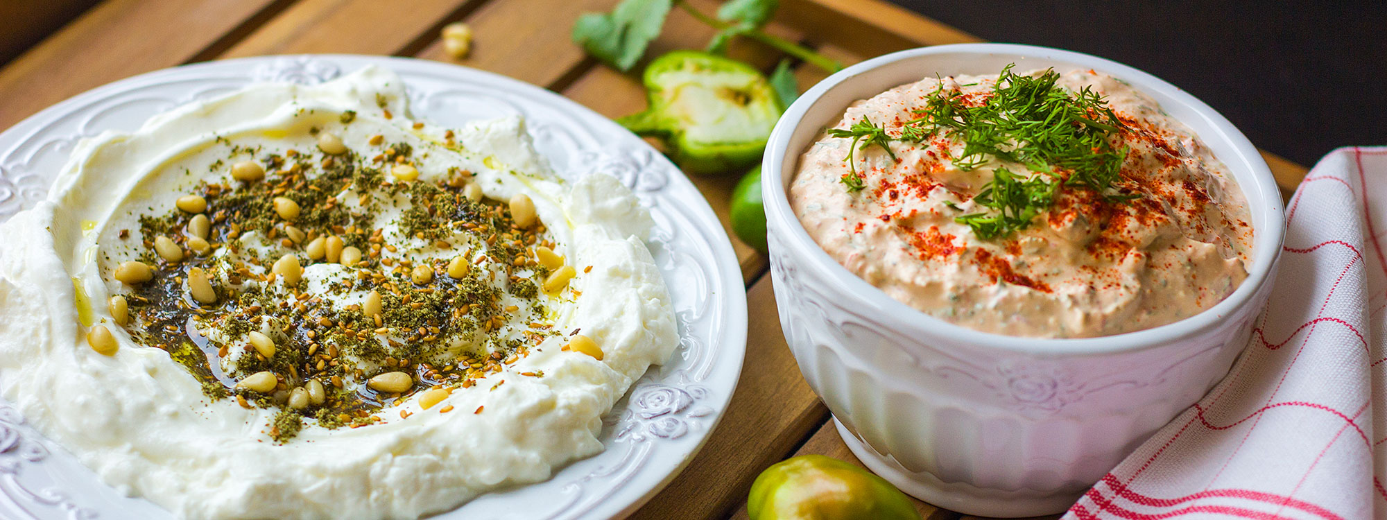 Image shows Homemade Labneh