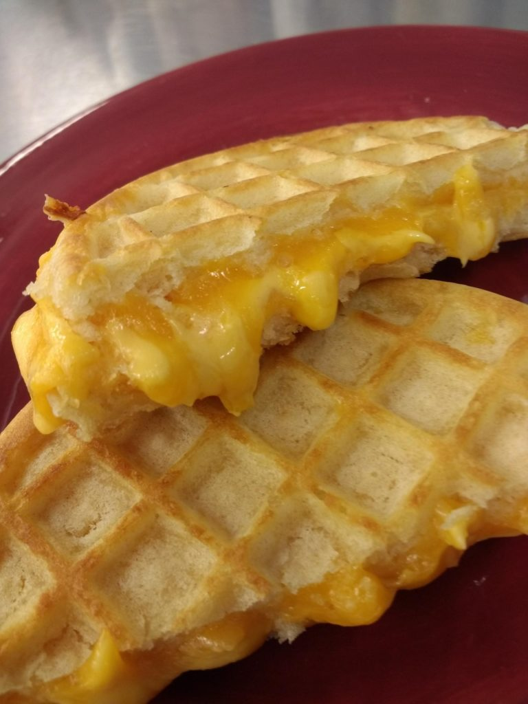 Wafflewich Grilled Cheese